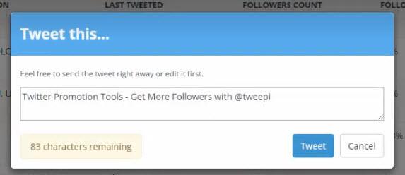 tweepi 40 users per page
