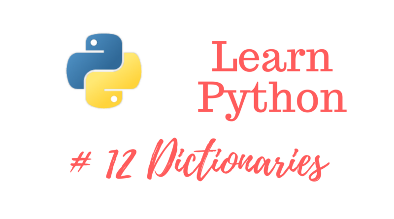 how to create a dictionary python