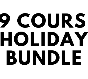 19 Course Holiday Bundle